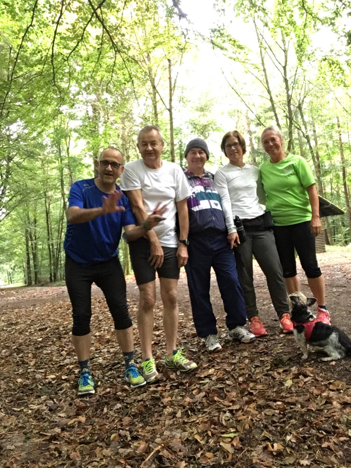 Laufgruppe Sept. 2017